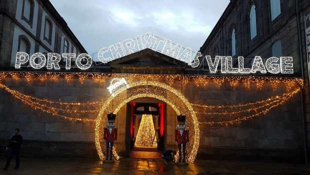 Mercadillo navideño Porto Christmas Village