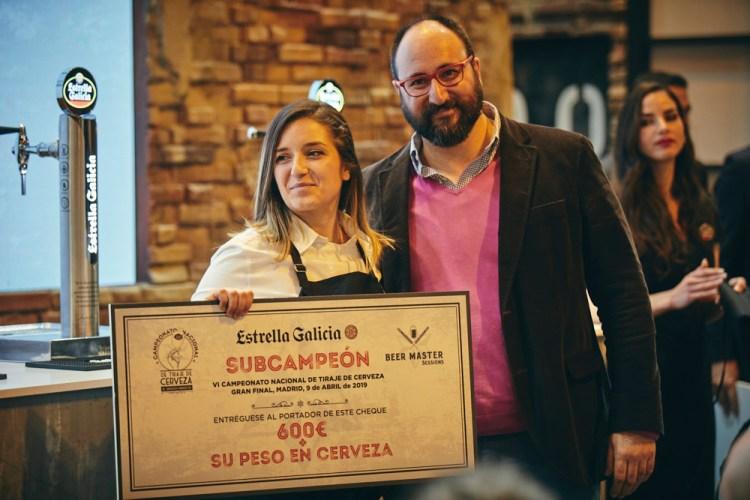 Subcampeona BeerMaster Estrella Galicia, Laura Martínez