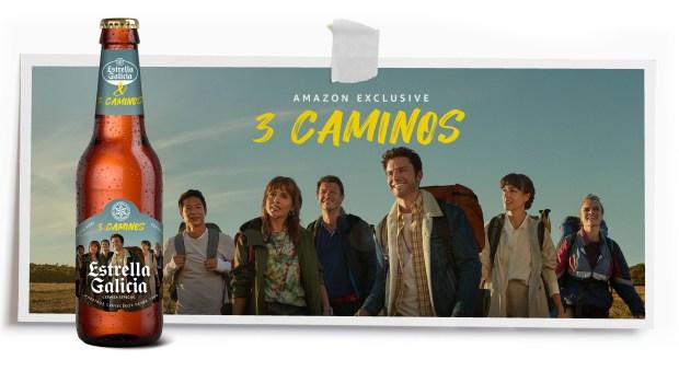 3 Caminos edición de botellas Estrella Galicia