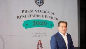 Ignacio Rivera presentación de resultados Corporación Hijos de Rivera ejercicio 2020