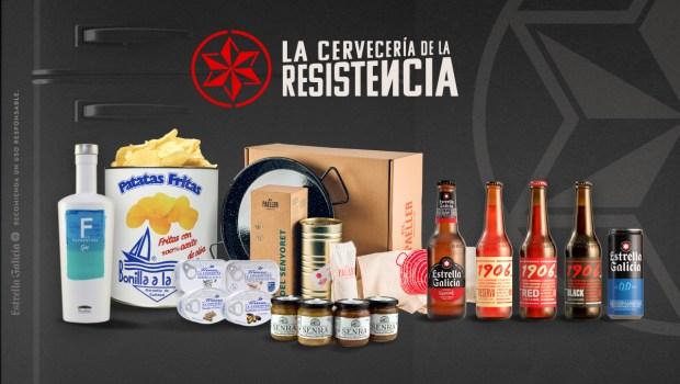 Estrella Galicia abre las puertas de la Cervecería de La Resistencia a otros productos artesanos