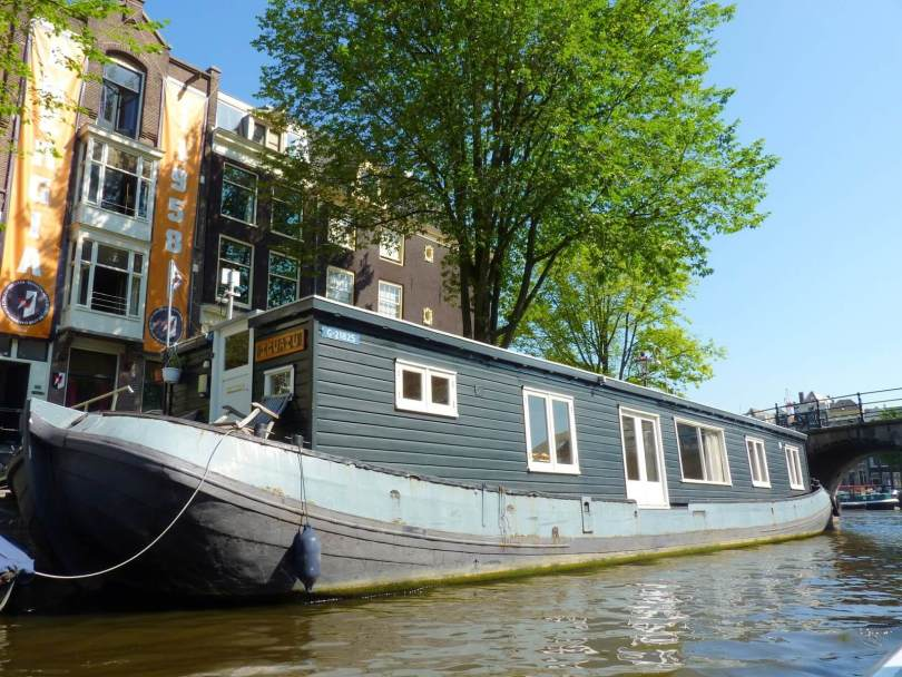 Amesterdão Países Baixos Casa-barco Mundo Indefinido