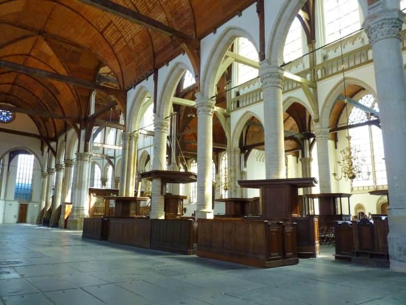 Amesterdão Países Baixos Igreja Oude Mundo Indefinido