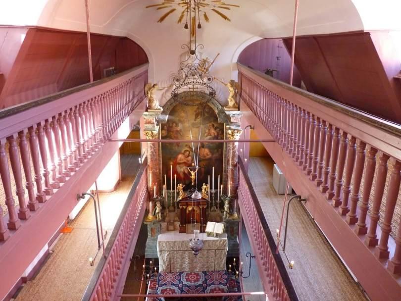 Amesterdão Países Baixos Igreja de Nosso Senhor do Sótão Mundo Indefinido