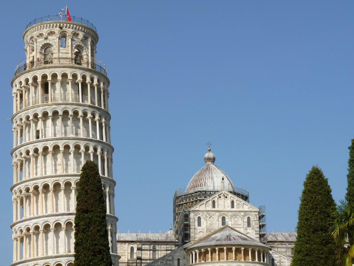 Torre Pendente di Pisa, a maravilha da inclinação