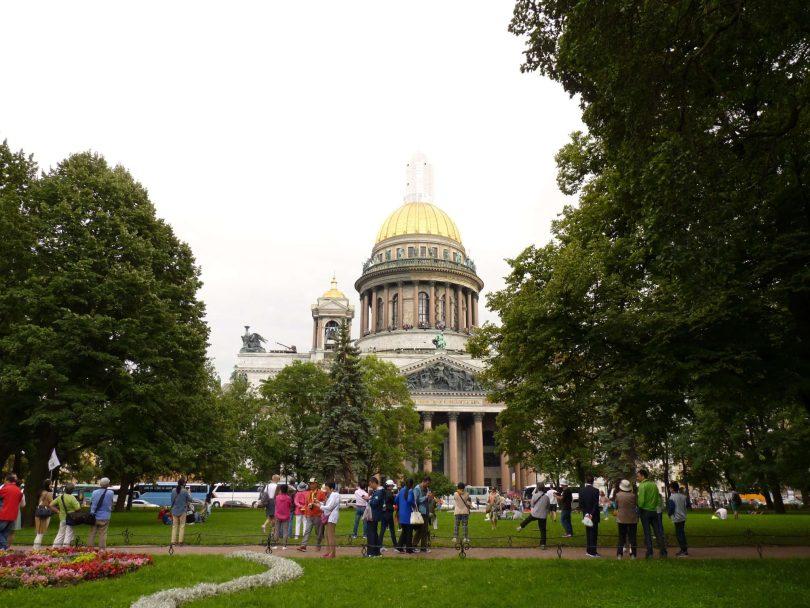 Catedral de Santo Isaac São Petersburgo Rússia Mundo Indefinido