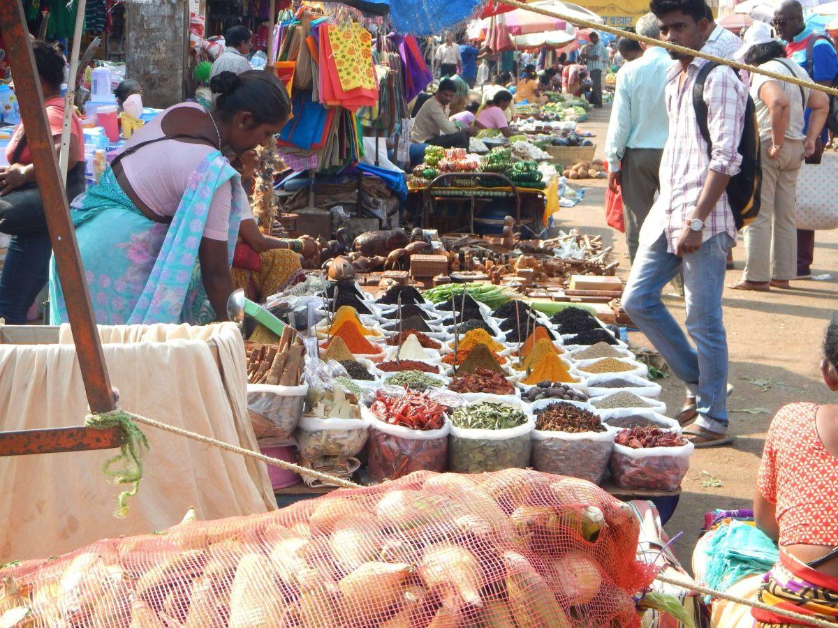 Entre cores e sabores no Mercado de Mapuçá, em Goa