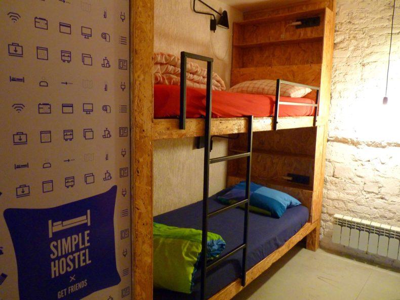Simple Hostel camarata 3 São Petersburgo Rússia Mundo Indefinido