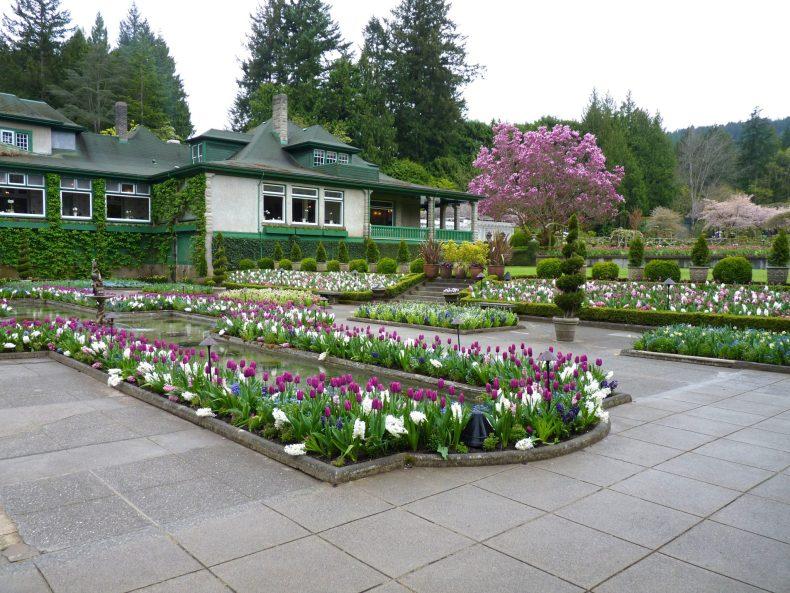 Butchart Gardens 20 Victoria Canadá Mundo Indefinido