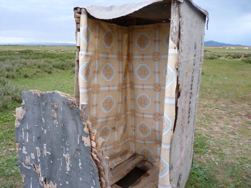 Casa de banho Mongólia Mundo Indefinido
