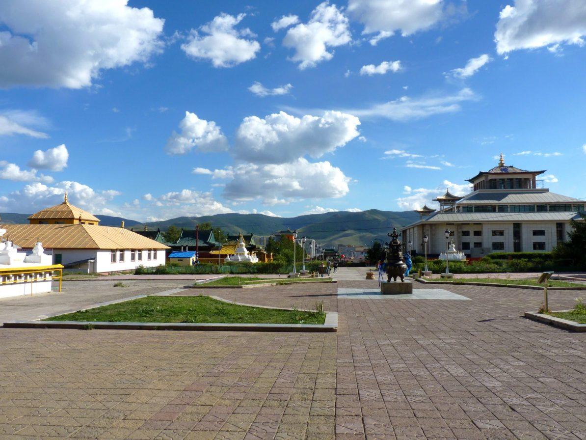 Mosteiro de Gandantegchinlen Khiid 04 Ulaanbaatar Mongólia Mundo Indefinido