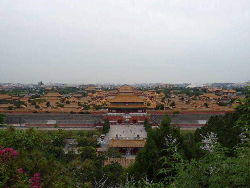 Cidade Proibida China Pequim Mundo Indefinido