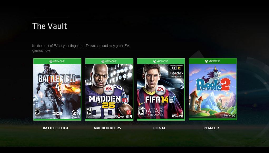 Juegos por anticipado en Xbox One con EA Access