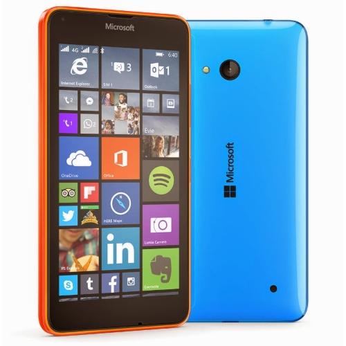 Lumia 640 naranja y verde