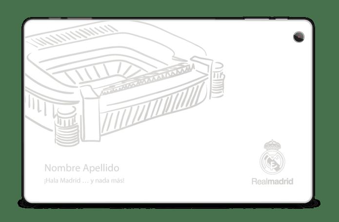 Diseño Windows Tablet Edición Real Madrid
