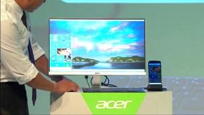 Imagen del escritorio de Windows gracias a Continuum en Acer Jade Primo