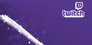 Logo de Twitch con fondo morado