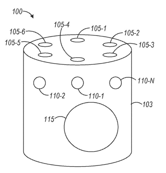 Microsoft patenta un altavoz inteligente con un anillo de sensores ópticos