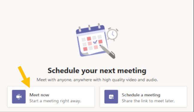 Los usuarios gratuitos de Teams ya pueden crear reuniones de vídeo