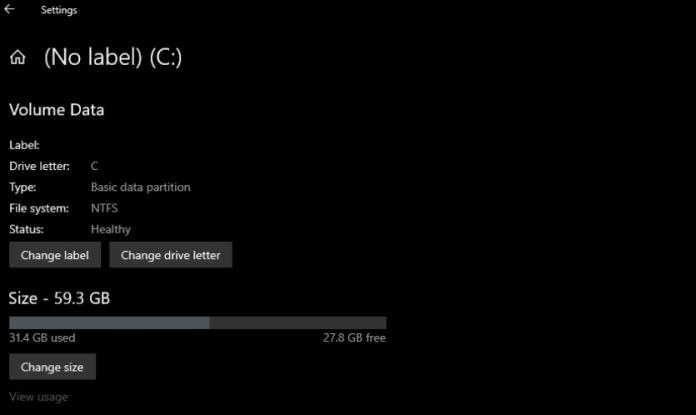 En camino una herramienta moderna de administración de partición de discos en Windows 10