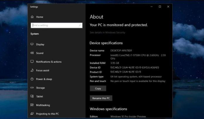 """Una actualización de Windows 10 podría """"matar"""" el applet del Panel de Control"""