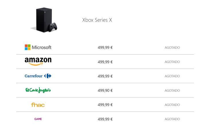 Después de agotarse Xbox Series X Microsoft promete más unidades el 10 de noviembre