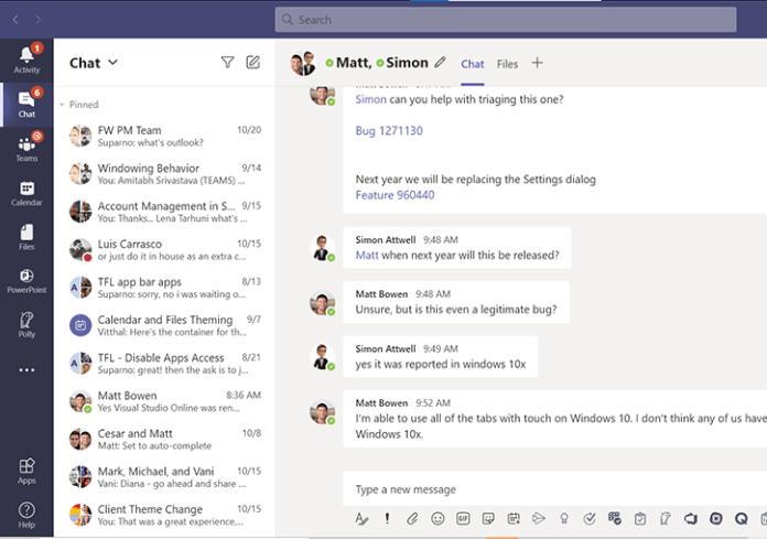 Microsoft Teams cambia su apariencia en su versión web