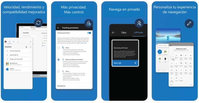 Microsoft Edge tendrá una gran actualización en iOS y Android