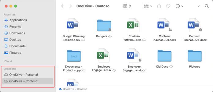 Microsoft OneDrive para Mac agregará el soporte para dispositivos con el chip M1