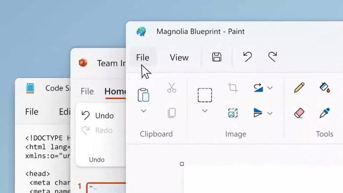 Algunas aplicaciones de Microsoft tienen un rediseño en Windows 11