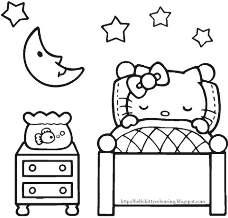 Pajama Day Coloring Pages Sketch Coloring Page