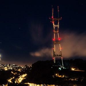 Telekom Kule İkaz Lambası