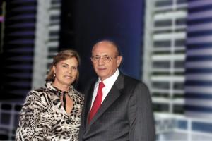 Armênio Mendes e esposa.