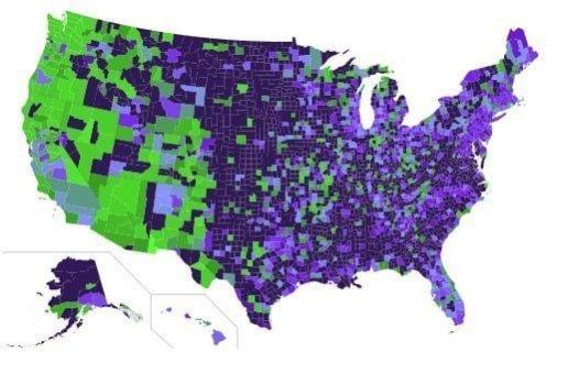 Áreas en los EE. UU. Donde es más probable que veas un OVNI