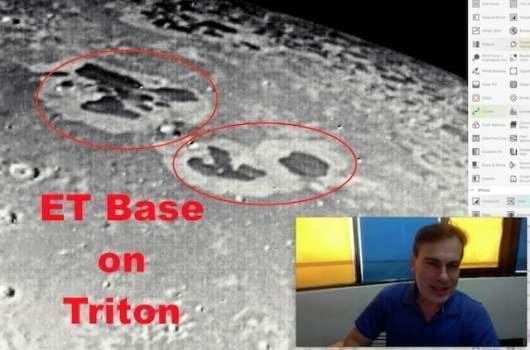 ¿Edificios camuflados alien en la luna de Neptuno Tritón?