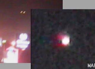 OVNIS grabados sobre California y Hollywood, 16-17 marzo 2011
