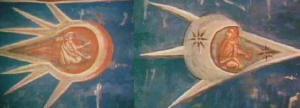 Antiguas pinturas de OVNIS