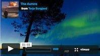 Una de las mayores auroras boreales filmadas