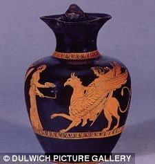 Antiguas obras de arte sin precedentes muestran el parto de una mujer