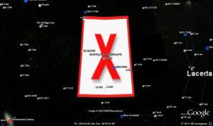 La X roja de la NASA y el ejercicio de Tsunami Pacific Wave 11, 09 de noviembre 2011
