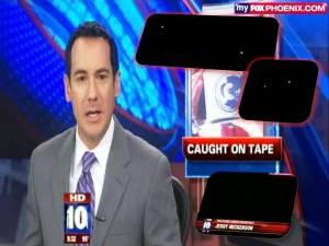 Noticias Fox: Extraño, bulto oscuro visto sobre Phoenix – 30 de septiembre 2011