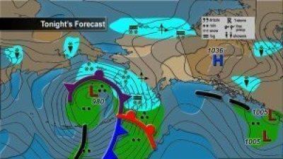 "Costa oeste de Alaska se prepara para tormenta monstruosa de ""Magnitud Épica"", 09 noviembre 2011 1"
