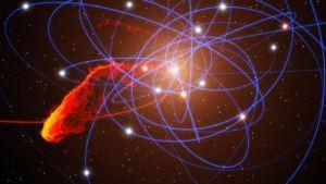 El agujero negro de la Vía Láctea se está tragando una nube de gas