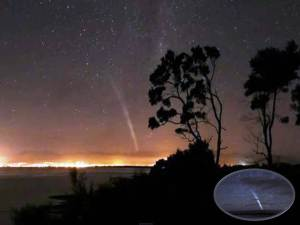 Astronauta graba al cometa Lovejoy desde la Estación Espacial – 21 de diciembre 2011