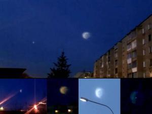 5 Testigos, OVNI, luces misteriosas en el cielo, Chelyabinsk Rusia, 23 de diciembre 2011