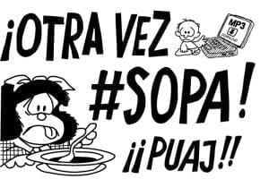 Ley S.O.P.A. ¿fue creada para poner coto a la piratería?