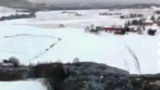 Decenas de evacuados por un deslizamiento de tierras en Trondheim, Noruega - 01 de enero 2012 1