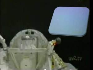 Orbes alrededor de la lanzadera – Los astronautas describen lo que están viendo
