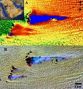 Imágenes de satélite revelan una antigua red de ríos en el desierto de Arabia