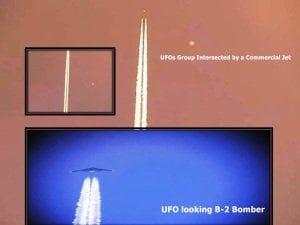 Grupo de OVNIs 'intersectado' por un avión comercial a 30.000 metros por encima de Denver, Colorado – mayo 2012